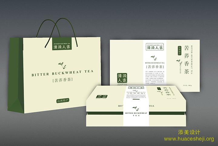 彰源人家茶包装设计图片