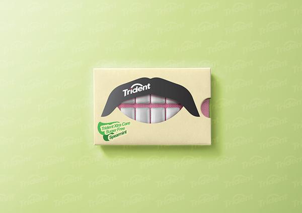 口香糖包装设计优秀案例欣赏